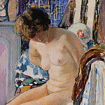 Sitting Nude, Henri Lebasque