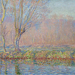 The Willow, 1885, Claude Oscar Monet
