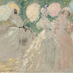 Sotheby's - Louis Icart - The Umbrellas