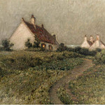 Sotheby's - Henri Le Sidaner - A House on a Dune, Fort-Philippe, 1903