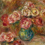 Sotheby's - Pierre Auguste Renoir - Vase with Flowers 01