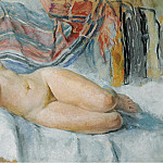 Nude on the Bed, 1905, Анри Лебаск