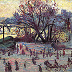 Sotheby's - Maximilien Luce - The Seine, View from the Studio of Pissarro, 1935-37