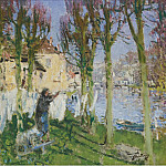 Sotheby's - Pierre-Eugene Montezin - Laundress Hanging Washing