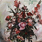Sotheby's - Lovis Corinth - Pink Roses, 1917