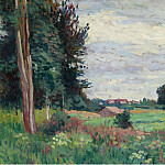 Sotheby's - Maximilien Luce - View of Mereville