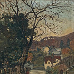 Картины с аукционов Sotheby's - James Wilson Morrice - Trefriw, North Wales