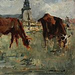Sotheby's - Eduard Manet - Cows at the Pasture, 1873