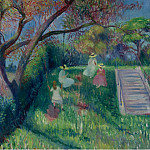 Sotheby's - William J. Glackens - The Swing, 1913