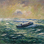 Sotheby's - Henry Moret - Rescue Boat at Audierne, Finistere