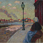 Картины с аукционов Sotheby's - Armand Guillaumin - The Seine at Charenton, 1875