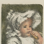 Sotheby's - Pierre Auguste Renoir - Child with Bisquit