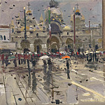 Ken Howard Rain in S Marco 05 122090 20, M B Von Arco