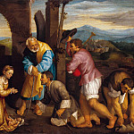 Jacopo dal Ponte called Bassano The Adoration of the Shepherds 5141 203, Jacopo Bassano
