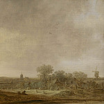 часть 3 -- European art Европейская живопись - Jan van Goyen An extensive dune landscape with corn stooks 28309 20
