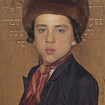часть 3 -- European art Европейская живопись - Isidor Kaufmann Portrait of a boy 40222 20