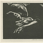 часть 3 -- European art Европейская живопись - KГ¤the Kollwitz Sleeping Woman with Child 39130 1124