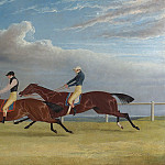 John Frederick Herring Snr Matilda and Mameluke; The Finish of the 1827 St Leger 28345 20, John Eder