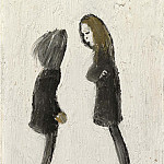 часть 3 -- European art Европейская живопись - Laurence Stephen Lowry Teenagers 112459 20