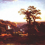 часть 3 -- European art Европейская живопись - Johann Jakob Frey View of the Falls at Tivoli 32223 172