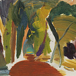 часть 3 -- European art Европейская живопись - Ivon Hitchens Forest by open space 32873 20