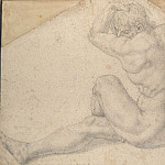 часть 3 -- European art Европейская живопись - Il Bronzino Seated male nude 18614 172