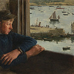 часть 3 -- European art Европейская живопись - Henry Scott Tuke The Look out 30315 20