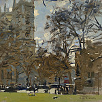 часть 3 -- European art Европейская живопись - Ken Howard Westminster Abbey March 07 99019 20