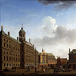 Оуватер, Исаак View of the Town Hall the Nieuwe Kerk and the Waag Amsterdam 79919 276, Том Холл