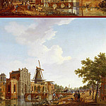 часть 3 -- European art Европейская живопись - ISAAK OUWATER The Catharijnepoort in Utrecht and The Wittevrouwenpoort in Utrecht 11668 172