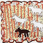 часть 3 -- European art Европейская живопись - keith HARING Animals 87099 1146