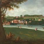 часть 3 -- European art Европейская живопись - Joseph Nicholls The Thames at Richmond 117299 20
