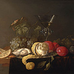 часть 3 -- European art Европейская живопись - Jan Davidsz de Heem Still life with a peeled lemon 98681 20