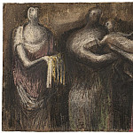 часть 3 -- European art Европейская живопись - Henry Moore The Presentation 105859 20