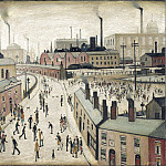 часть 3 -- European art Европейская живопись - Laurence Stephen Lowry Factories Lancashire 99439 20