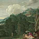 часть 3 -- European art Европейская живопись - Johann Konig An extensive landscape with the Good Samaritan 99239 20