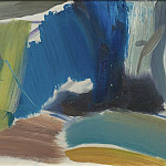 часть 3 -- European art Европейская живопись - Ivon Hitchens Spanish Chestnut Yellow Distance 98819 20