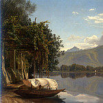часть 3 -- European art Европейская живопись - JANUS ANDREAS BARTOLIN La Cour View of Lake Lugano 32226 172