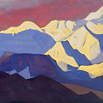 Roerich N.K. (Part 4) - The last ray # 12 Last beam (Burning sky)