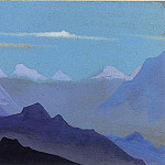 Himalayas. Twilight # 57, Roerich N.K. (Part 4)