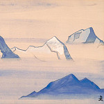 Roerich N.K. (Part 4) - Himalayas album leaf (4)