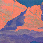 Evening snow # 9, Roerich N.K. (Part 4)