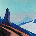 The Himalayas # 191 The Stone Guard, Roerich N.K. (Part 4)