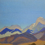 Roerich N.K. (Part 1) - The Himalayas # 91 (Pre-dawn mountains)
