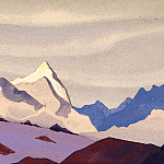 The Western Himalayas # 114, Roerich N.K. (Part 4)