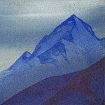 Himalayas # 82 Mountain peak, Roerich N.K. (Part 4)