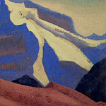 Himalayas # 98 Blue Rush, Roerich N.K. (Part 4)