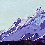Roerich N.K. (Part 4) - The Himalayas (evening) # 59