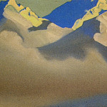 The Himalayas # 71 The birth of the clouds, Roerich N.K. (Part 4)