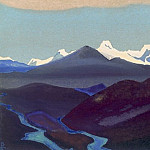 Roerich N.K. (Part 4) - Tibet # 168 Tibet (The phenomenon of eternal snow)